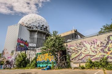 Cúpulas geodésicas Teufelsberg en Berlin
